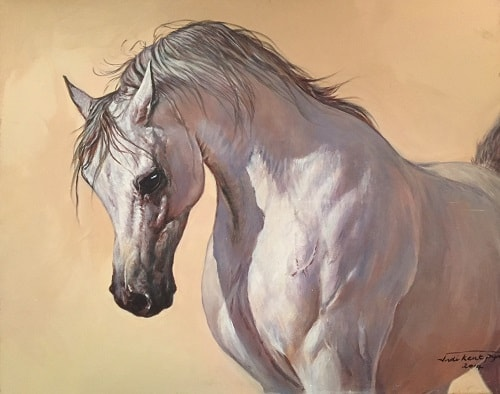 Flair Arab Horse Painting