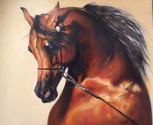 Paintings of Arabian Horses