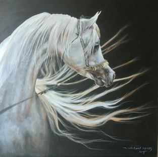 Arab Horse Painter