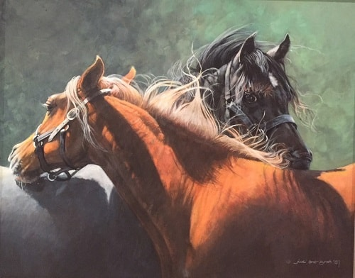 Best Horse Paintings in the UK
