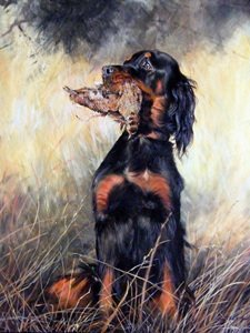 Dog Paintings Art Gallery